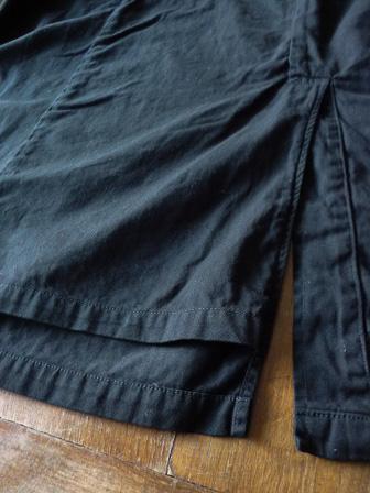 【orslow】US Navy Soutien Collar Coat 【オアスロウ】USネイビーステンカラーコート (ユニセックス)151026o12.jpg