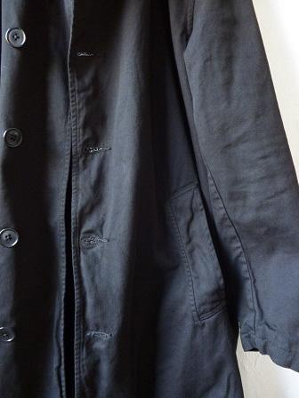 【orslow】US Navy Soutien Collar Coat 【オアスロウ】USネイビーステンカラーコート (ユニセックス)151026o3.jpg