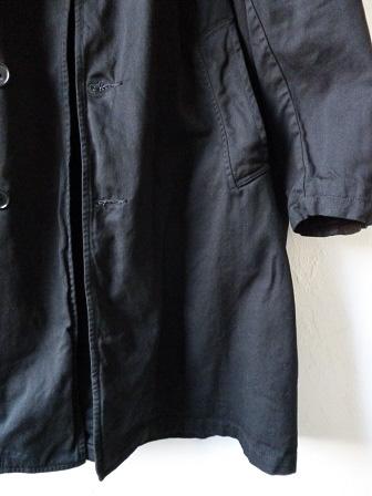 【orslow】US Navy Soutien Collar Coat 【オアスロウ】USネイビーステンカラーコート (ユニセックス)151026o4.jpg