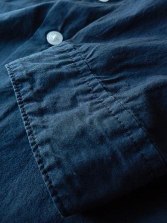 【GRANDMA MAMA DAUGHTER】A Line Gather Wide Shirt 【グランマ ママ ドーター】Aラインギャザーワイドシャツ (レディース)151028g7.jpg