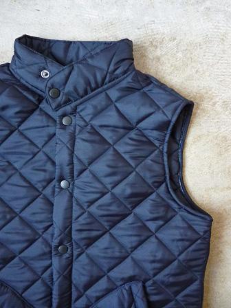 【Beaver】(Beaver of Bolton) Stand Collar Quilted Vest 【ビーバー】スタンドカラーキルティングベスト Made in England (ユニセックス)151030b12.jpg