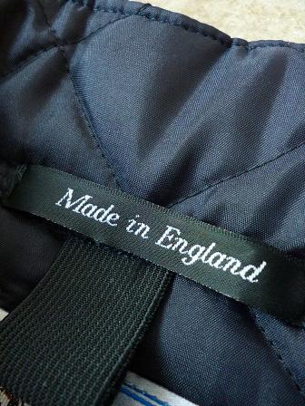 【Beaver】(Beaver of Bolton) Stand Collar Quilted Vest 【ビーバー】スタンドカラーキルティングベスト Made in England (ユニセックス)151030b17.jpg
