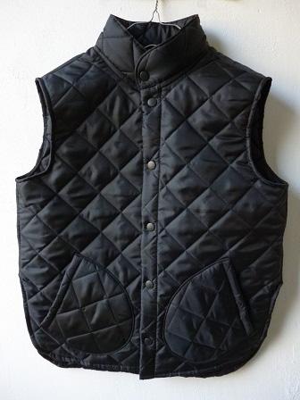 【Beaver】(Beaver of Bolton) Stand Collar Quilted Vest 【ビーバー】スタンドカラーキルティングベスト Made in England (ユニセックス)151030b5.jpg