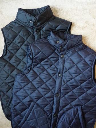 【Beaver】(Beaver of Bolton) Stand Collar Quilted Vest 【ビーバー】スタンドカラーキルティングベスト Made in England (ユニセックス)151030b7.jpg