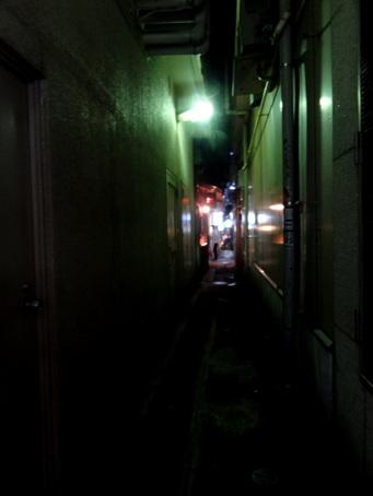 銀座8丁目の路地12