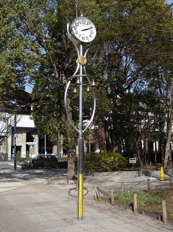 高島平団地の時計