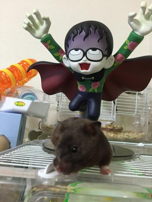 魔太郎&黒目