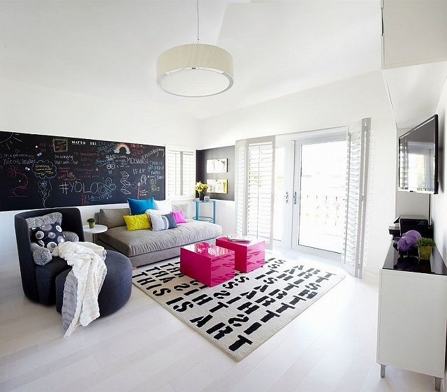 Chic-modern-bedroom-with-color-creativity-and-chalkboard-wall.jpg
