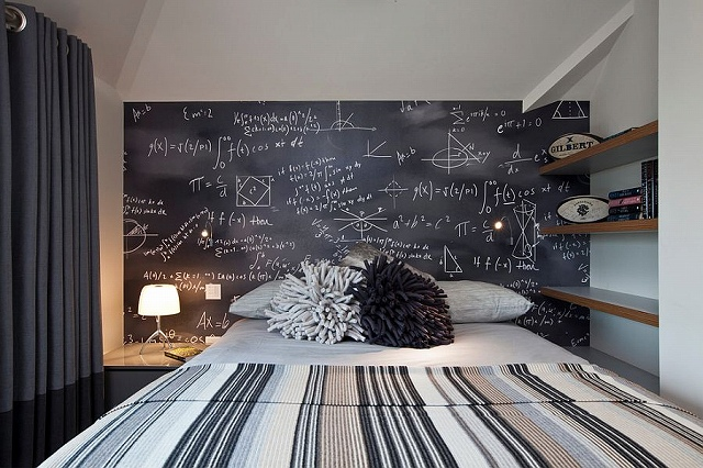 Contemporary-bedroom-with-chalkboard-accent-wall.jpg