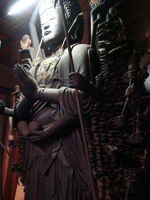 長泉寺の千手観音