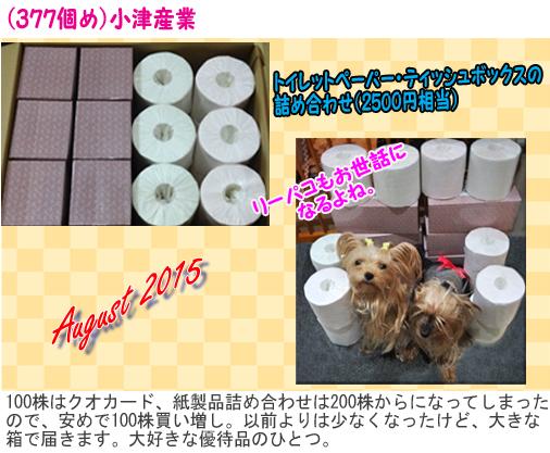 (377)2015年08月到着 小津産業 のコピー