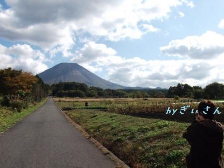 大山を撮る