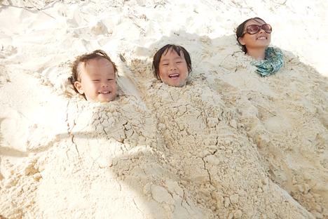 宮古島 伊良部島 渡口の浜 ビーチ