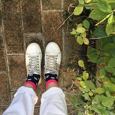 ダイソー靴下