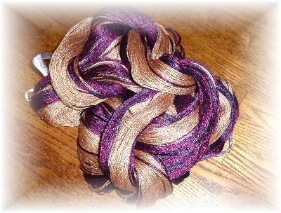 裂き織りマフラー22-1