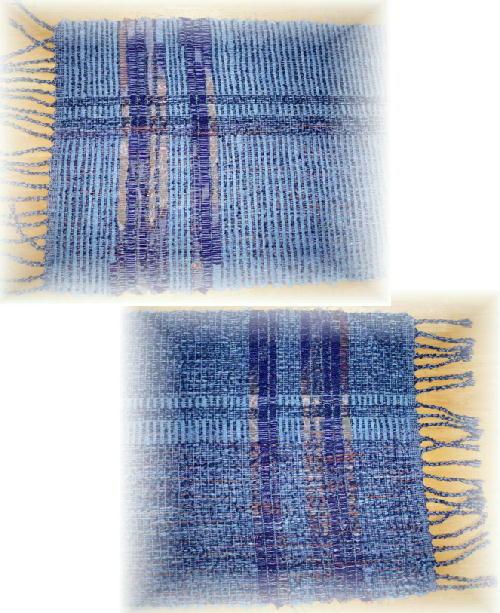 裂き織りマフ27-3