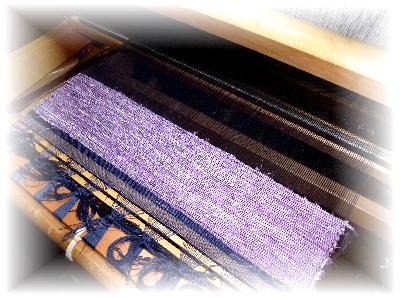 裂き織りマフラー31-1