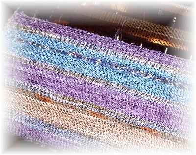 裂き織りマフラー31-3