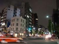 奏音@八丁堀・20151207・交差点