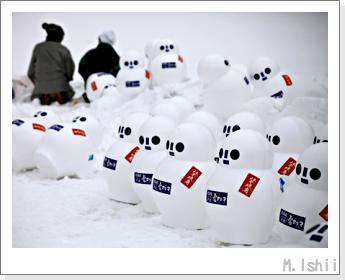 早来雪ダルマ01