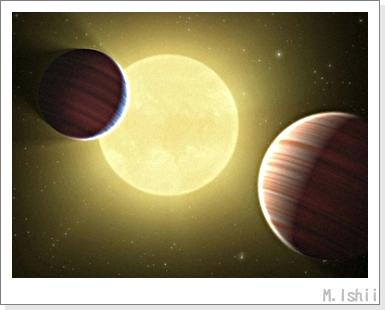 太陽系外の惑星01