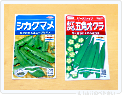 夏野菜の種