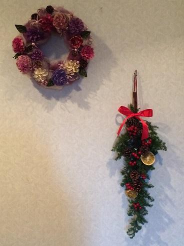 201512クリスマスリース2種