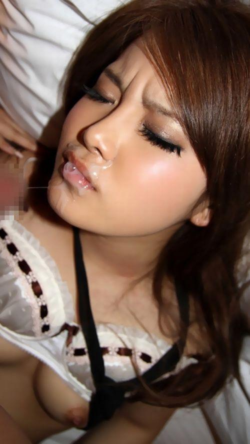 【画像】キレイ目系白ギャルお姉さんの顔にザーメンぶっかけたったwww 31枚 No.31