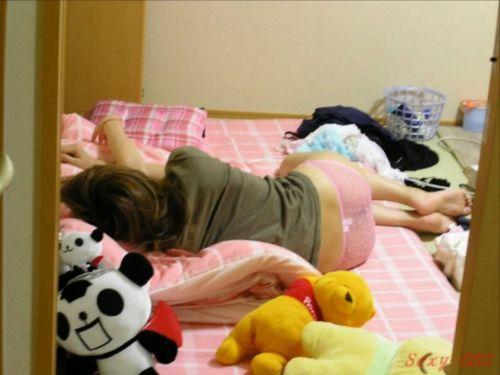【画像】寝相の悪い姉や妹が下着姿で寝てるところを盗撮したったwww 35枚 No.24