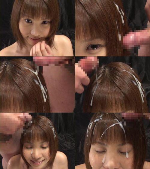 【ぶっかけ画像】髪に射精パックでタンパク質補給とか女子力高すぎwww 33枚 No.18