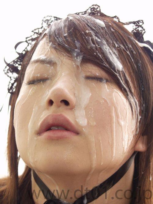 【ぶっかけ画像】髪に射精パックでタンパク質補給とか女子力高すぎwww 33枚 No.31