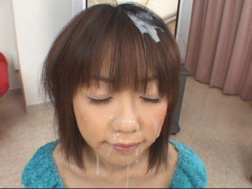 【ぶっかけ画像】髪に射精パックでタンパク質補給とか女子力高すぎwww 33枚 No.32