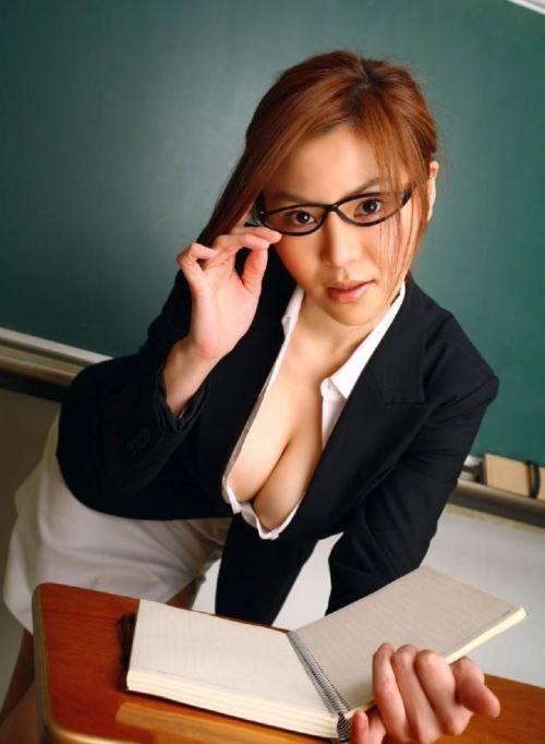エッチな授業で成績を良くしちゃうセクシー女教師のエロ画像 34枚 No.5