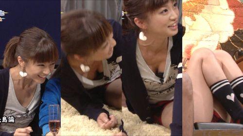 胸の谷間全開な美人芸能人達のお宝ハプニングエロ画像 31枚 No.16