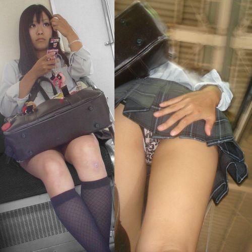 【顔出し画像】メチャカワギャル系JKのパンティを逆さ撮りした結果www 33枚 No.22