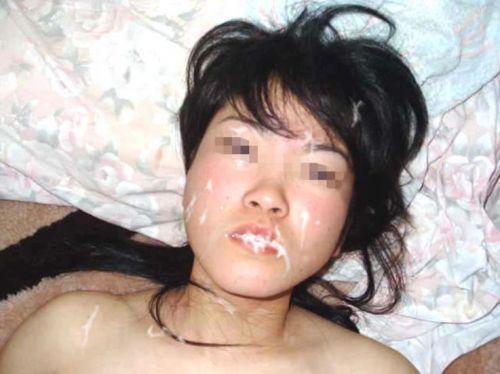 美女の綺麗な顔をザーメンまみれにする顔射ぶっかけエロ画像 35枚 No.2