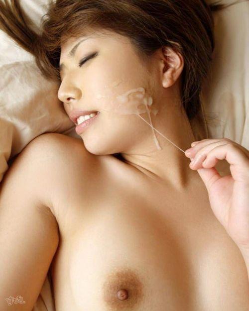 美女の綺麗な顔をザーメンまみれにする顔射ぶっかけエロ画像 35枚 No.4