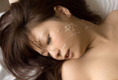 美女の綺麗な顔をザーメンまみれにする顔射ぶっかけエロ画像 35枚 No.6