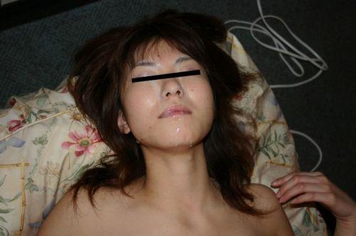 美女の綺麗な顔をザーメンまみれにする顔射ぶっかけエロ画像 35枚 No.12