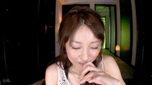 美女の綺麗な顔をザーメンまみれにする顔射ぶっかけエロ画像 35枚 No.14