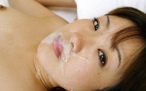 美女の綺麗な顔をザーメンまみれにする顔射ぶっかけエロ画像 35枚 No.20