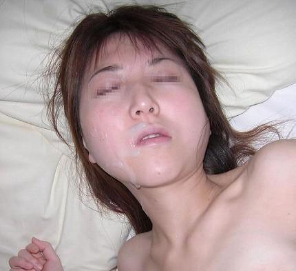 美女の綺麗な顔をザーメンまみれにする顔射ぶっかけエロ画像 35枚 No.23