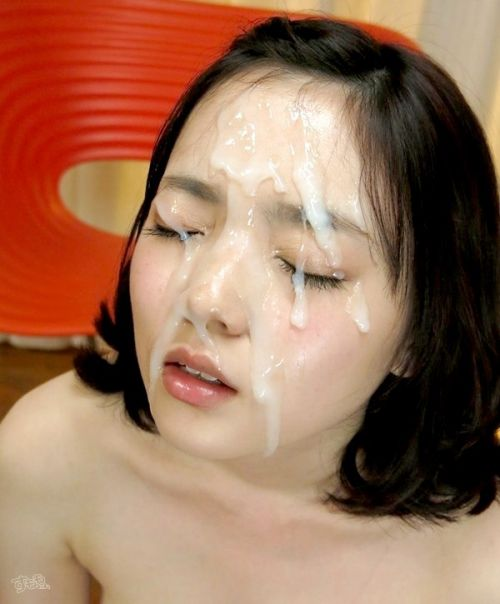 美女の綺麗な顔をザーメンまみれにする顔射ぶっかけエロ画像 35枚 No.33