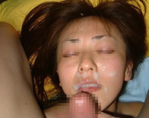 【画像】チンコから出るザーメンが美女にぶっかかる瞬間を激写したったwww 43枚 No.15
