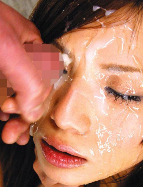 【画像】チンコから出るザーメンが美女にぶっかかる瞬間を激写したったwww 43枚 No.32