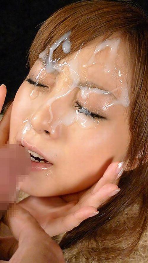 【画像】チンコから出るザーメンが美女にぶっかかる瞬間を激写したったwww 43枚 No.41