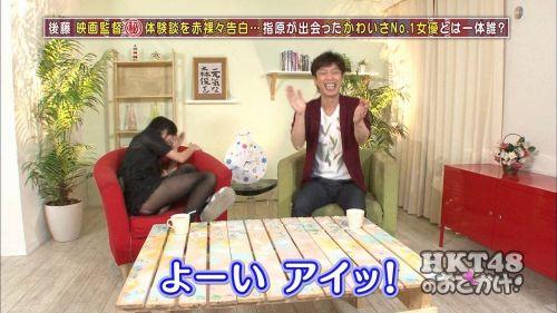 テレビで芸能人がリアクションで一瞬見えたお宝パンチラ画像集 34枚 No.12