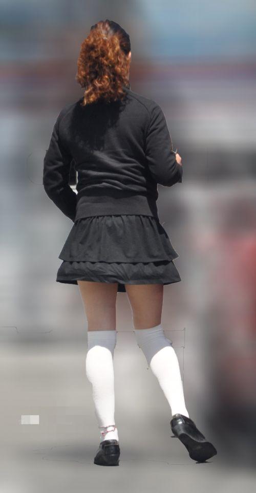 ラッキーパンチラ!風でめくれ上がるスカートがエッチな風チラ画像 34枚 No.24