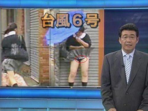 【画像】TV中継でJK達のずぶ濡れなスケブラやパンチラが映った件 37枚 No.1