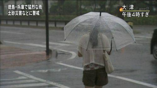 【画像】TV中継でJK達のずぶ濡れなスケブラやパンチラが映った件 37枚 No.11